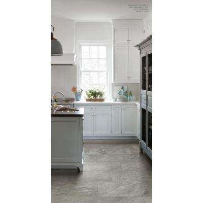Alpe Silver 12 in. x 12 in. x 9 mm Porcelain Mosaic Tile (0.97 sq. ft. / Each)