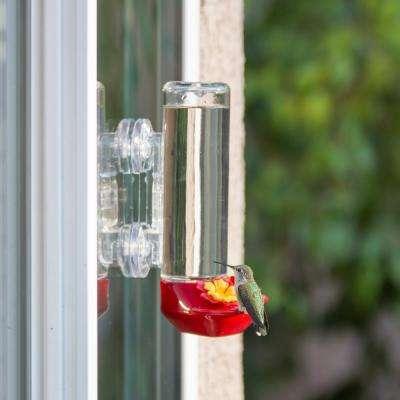Window Mount Glass Hummingbird Feeder - 14 oz. Capacity