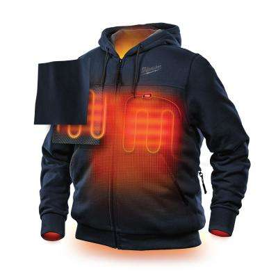 Men's M12 12-Volt Lithium-Ion Cordless Heated Hoodie Kit with (1) 1.5Ah Battery and Charger