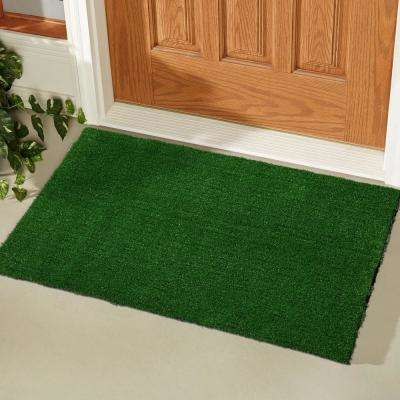 Evergreen Collection Green 2x3 Indoor/Outdoor Area Rug