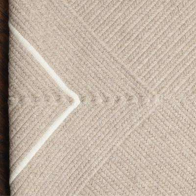 Natural Beige 2 ft. x 3 ft. Braided Area Rug