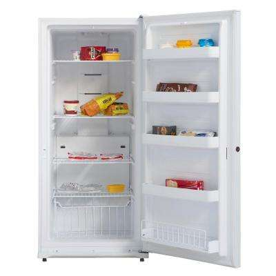 13.8 cu. ft. Energy Star Digital Upright Deep Freezer in White