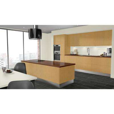 3 in. x 5 in. Laminate Countertop Sample in Rio with Premium Linearity Finish