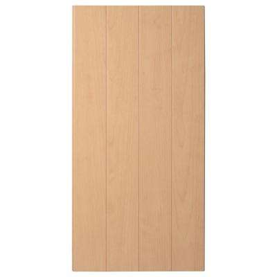 Supreme Wainscot 8 Linear ft. HDF Tongue and Groove Charleston Maple Panel (6-Pack)