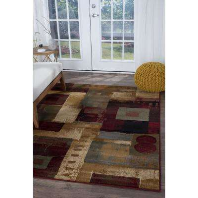 Impressions Multi 3 ft. x 7 ft. Indoor Runner Rug