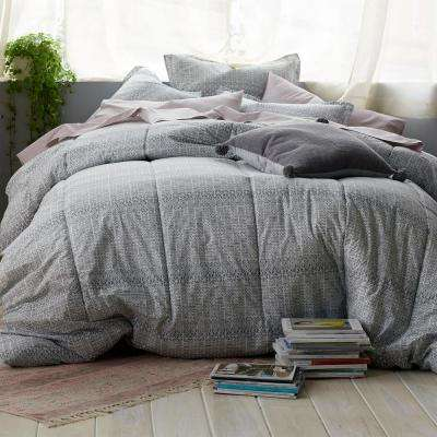 Basket Geo Percale Comforter Set