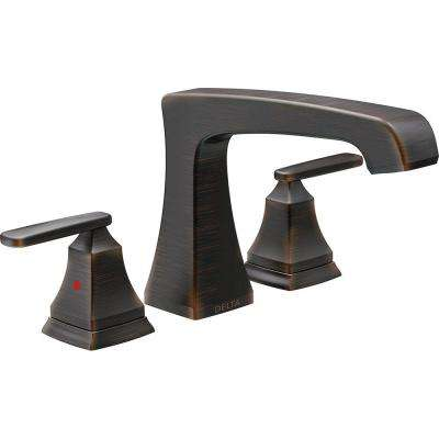 Ashlyn 2-Handle Deck-Mount Roman Tub Faucet Trim Kit in Venetian Bronze (Valve Not Included)