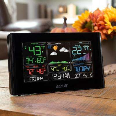 Wireless Wi-Fi Professional Weather Center with AccuWeather Forecast and Remote Home Monitoring