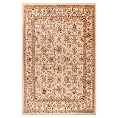Jewel Antep Ivory 7 ft. 10 in. x 9 ft. 10 in. Area Rug