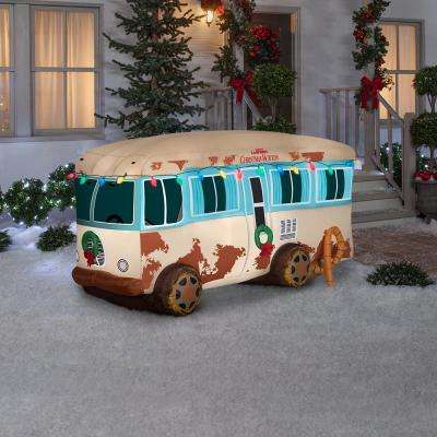 4 ft. Pre-lit Inflatable NLCV RV Scene with Logo-Airblown Scene-WB