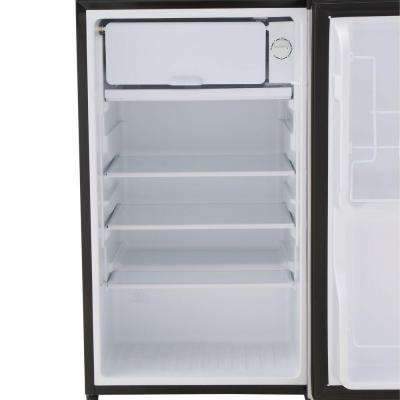 3.5 cu. ft. Mini Refrigerator in Stainless Look, ENERGY STAR