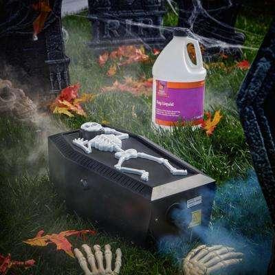 5.7 in. 400-Watt Coffin Skeleton Fog Machine