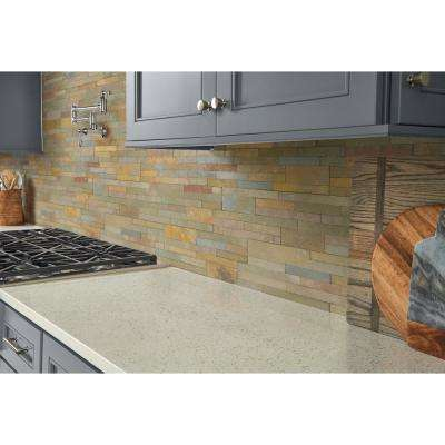 Salvador Vanilla Ledger Panel 6 in. x 24 in. Natural Limestone Wall Tile (1 sq. ft.)