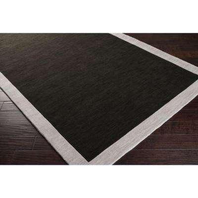 Coal Black 3 ft. x 8 ft. Runner Rug