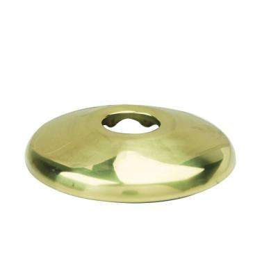 3/8 in. IPS Shallow Escutcheon in Polished Brass