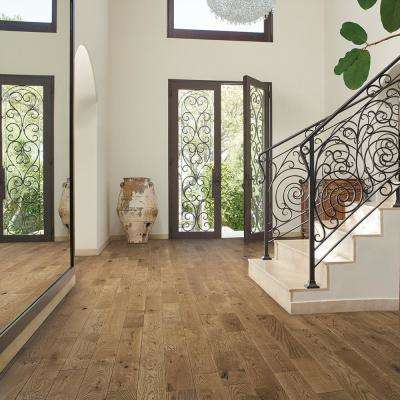 French Oak Point Paradise 3/4 in. Thick x 5 in. Wide x Varying Length Solid Hardwood Flooring (22.60 sq. ft./case)