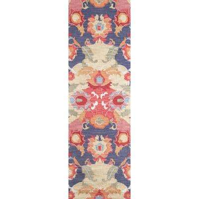 Felicity Multi 2 ft. 6 in. x 10 ft. Runner