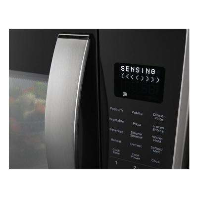 2.1 cu. ft. Over the Range Microwave with Steam Cooking in Fingerprint Resistant Stainless Steel