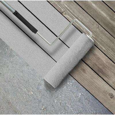 5 gal. #SC-365 Cape Cod Gray Textured Solid Color Exterior Wood and Concrete Coating