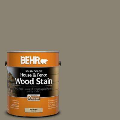 1-gal. #SC-154 Chatham Fog Solid Color House and Fence Wood Stain