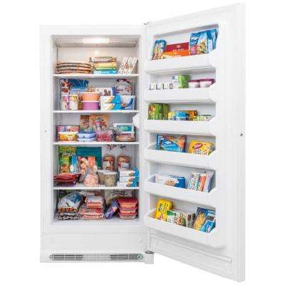 20.9 cu. ft. Upright Freezer in White