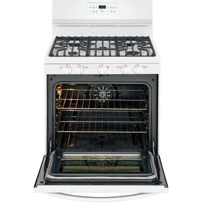 self cleaning white gas ranges ranges the home depot rh homedepot com