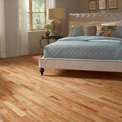 Red Oak Natural 3/4 in. Thick x 2-1/4 in. Wide x Varying Length Solid Hardwood Flooring (24 sq. ft. / case)