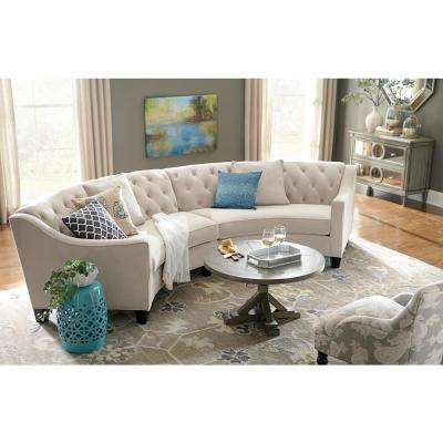 Montpellier Grey 5 ft. x 8 ft. Area Rug