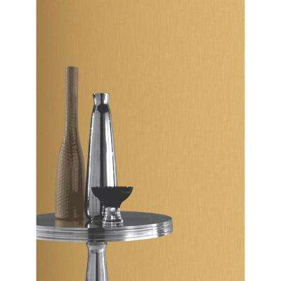 Arthouse Plain Gold Unpasted Wallpaper
