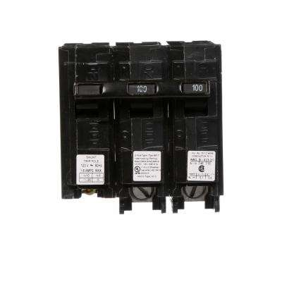 100 Amp Double-Pole Type MP Plug-In Circuit Breaker with 120-Volt Shunt Trip