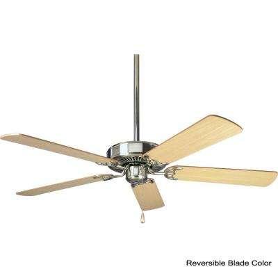 AirPro Builder 52 in. Indoor Brushed Nickel Classic Ceiling Fan