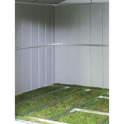 10 ft. x 12 ft. - 14 ft. Galvanized Steel Floor Frame Kit