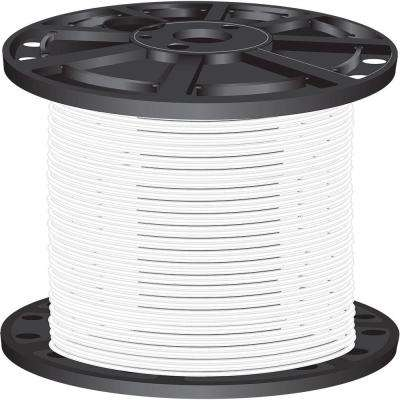 2,500 ft. 10-Gauge White Stranded CU XHHW Wire