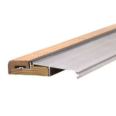 3 ft. x 5-5/8 in. x 1-1/8 in. Oak/Aluminum Threshold