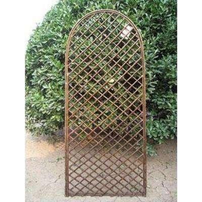 72 in. H x 24 in. W Willow Arc Top Full Trellis