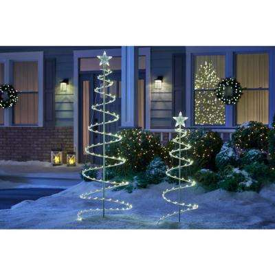 LED Lighted Spiral Tree (2-Pack)