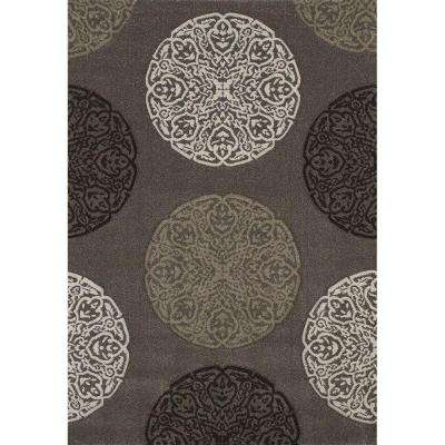 Gaze Stone 7 ft. 10 in. x 11 ft. 2 in. Area Rug