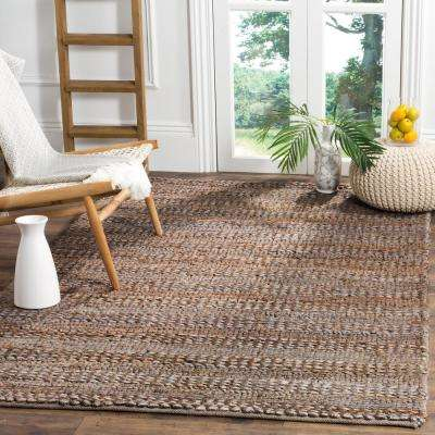Natural Fiber Beige 6 ft. x 9 ft. Indoor Area Rug