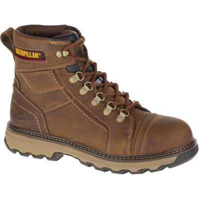 Granger Men's Dark Beige Steel Toe Work Boot