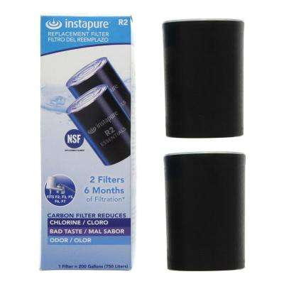 R2-2PK Instapure Essentials Faucet Filter Replacement Cartridge (2-Pack)