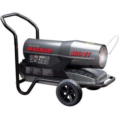 110,000 to 160,000 BTU Portable Kerosene Heater