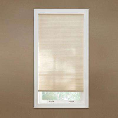 Cut-to-Width Sahara 9/16 in. Cordless Light Filtering Cellular Shade - 54 in. W x 48 in. L