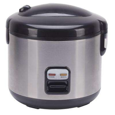 6-Cup Rice Cooker with Stainless Body