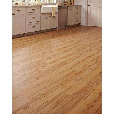 Essential Oak 7.1 in. W x 47.6 in. L Luxury Vinyl Plank Flooring (18.73 sq. ft. / case)