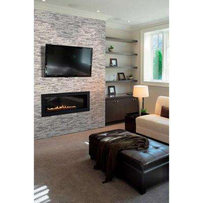 Astounding Fireplace Natural Stone Tile Tile The Home Depot Download Free Architecture Designs Scobabritishbridgeorg