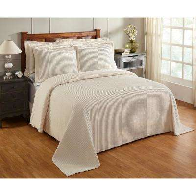 Julian Bedspread Solid 120-Thread Count Cotton Coverlet