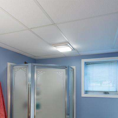 2 ft. x 4 ft. Classic Pro White Ceiling Tile (80 sq. ft. / case of 10)