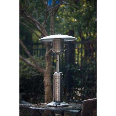 LEGACY HEATING Table Top Gas Patio Heater Steel
