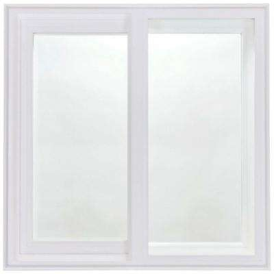 5040 Silent Guard Acoustical Slider Vinyl Windows, 60 in. x 48 in. with LowE Triple Glazed Glass and Screen-DISCONTINUED