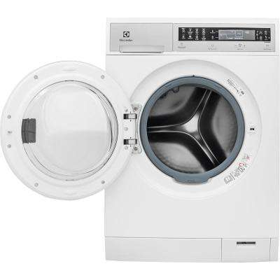 IQ Touch 24 in. W 2.4 cu. ft. High Efficiency Front Load Washer with Steam in White, ENERGY STAR